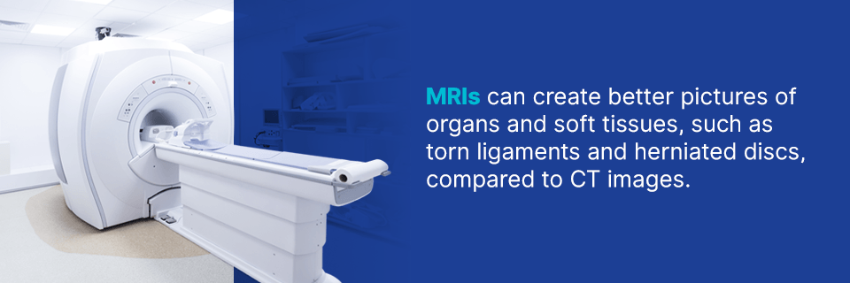 MRIs can create better pictures