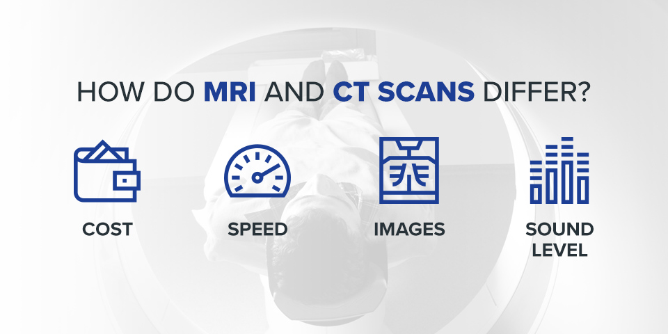 How MRI & CT Scans Differ
