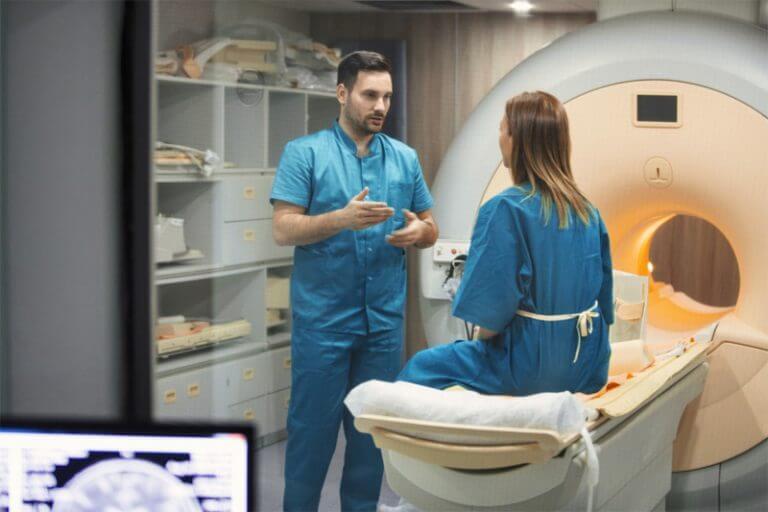 administering MRI