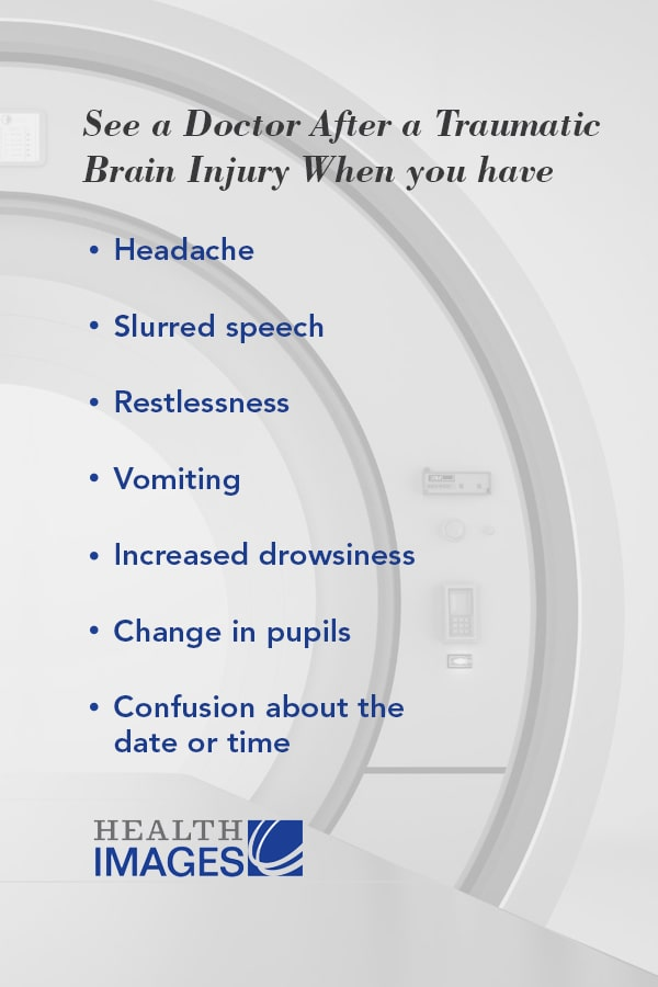 When to See a Doctor After a Traumatic Brain Injury