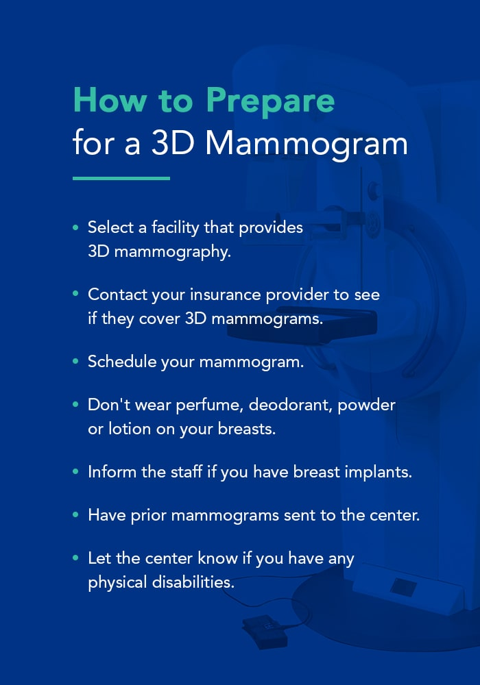 How to Prepare for a 3D Mammogram