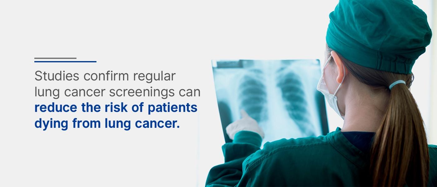 regular lung cancer screenings