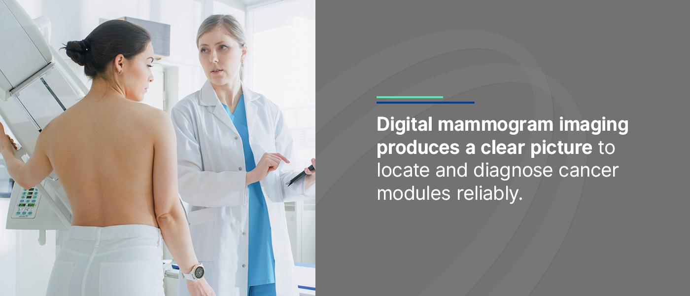 digital mammogram