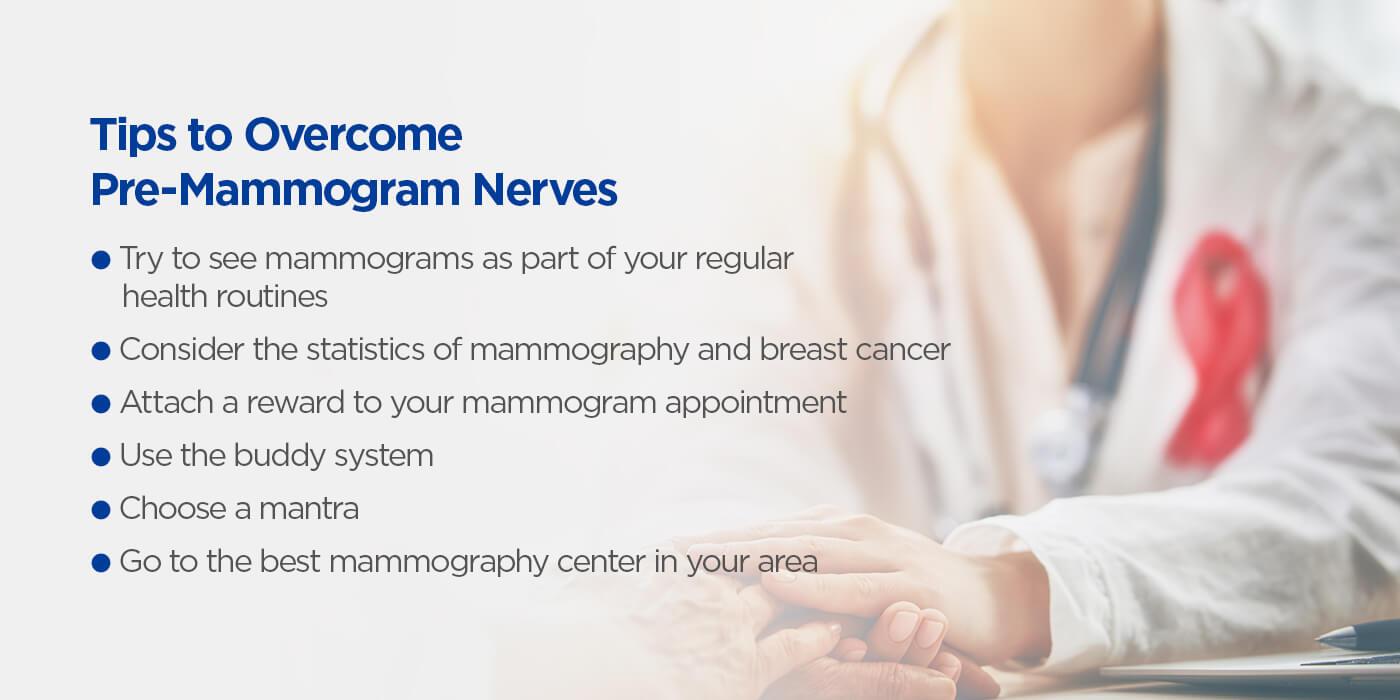 Tips to Overcome Pre-Mammogram Nerves