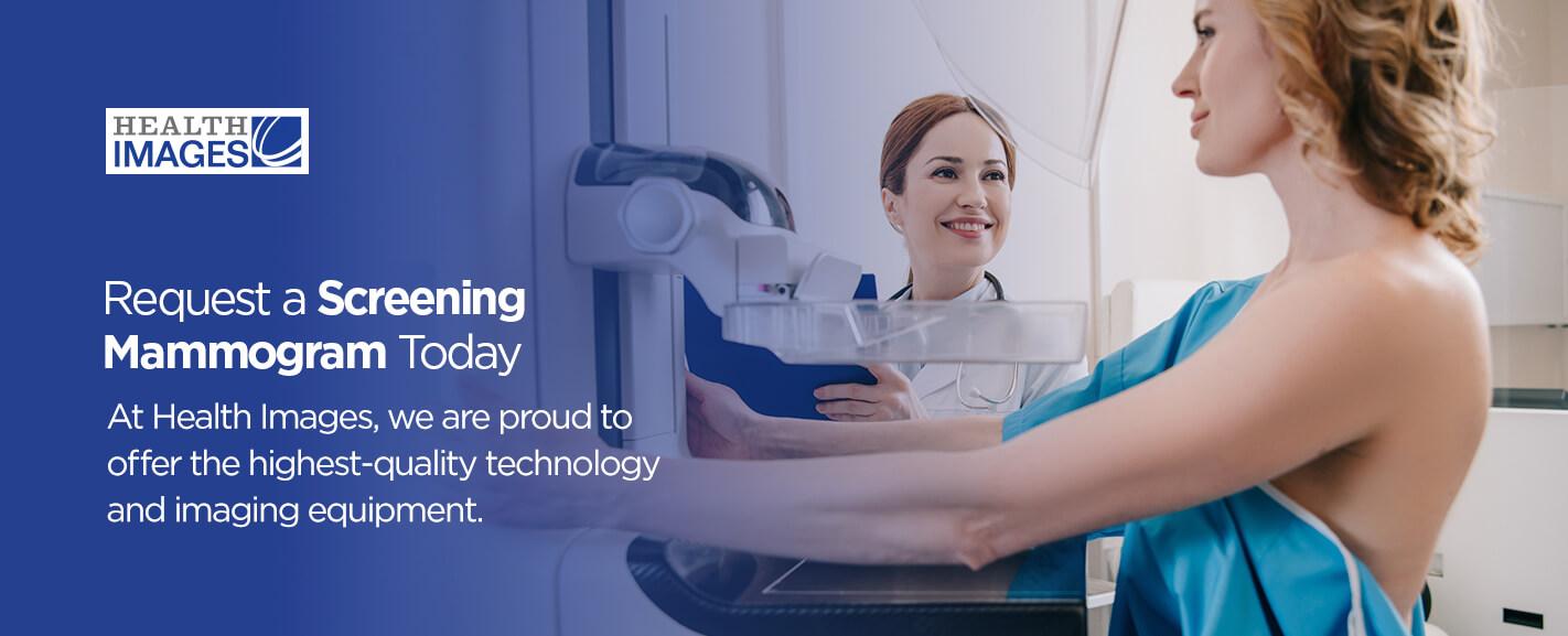 Request a Screening Mammogram Today